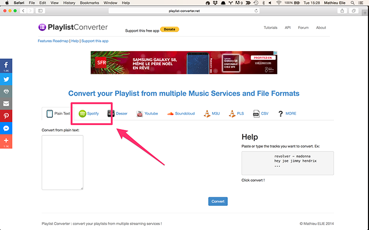 Convert playlists from spotify to deezer tutorial